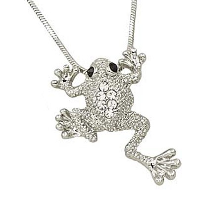 Frog Charm Necklace