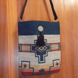 Krazy-Bear-Indian-Blanket-Purse-Tan-Blue