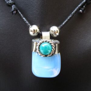 Krazy-Bear-Indigenous-Made-Shaman-Gemstone-Necklace-moonstone