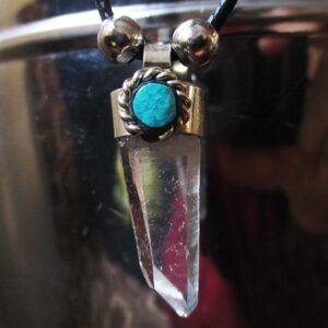 Krazy-Bear-Indigenous-Made-Shaman-Gemstone-Necklace-quartz-crystal.