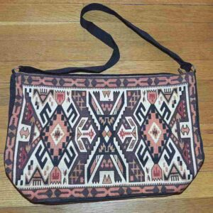 Krazy-Bear-Southwest-Purse-aztec-orange-brown